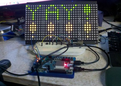 LED Dot Matrix Display