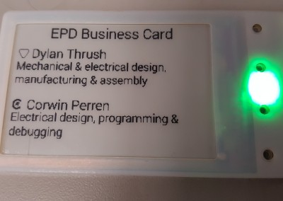 E-Paper Business Card